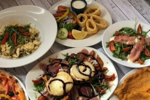 Selection of Starters & Mains
